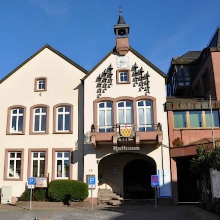 Das Rathaus in Wadern.
